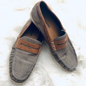 Call it Spring canvas boat shoe penny loafers